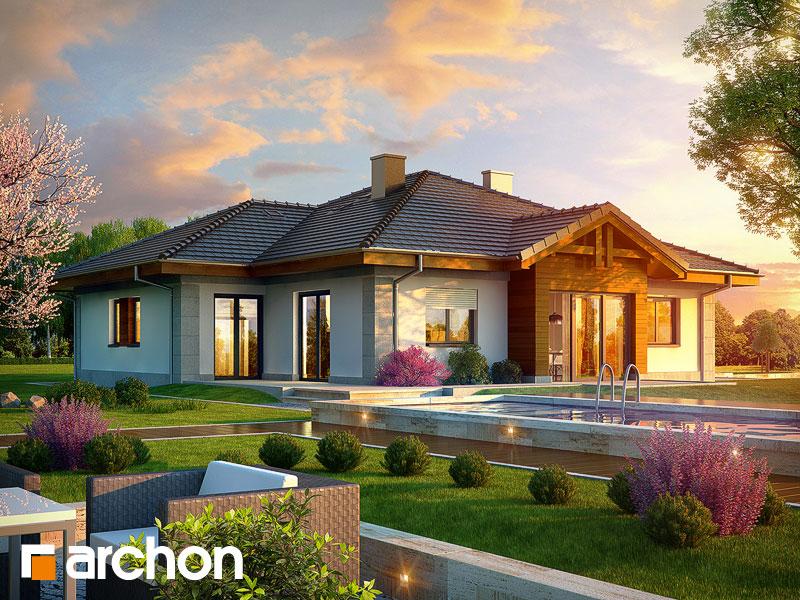 Проект будинку ARCHON+ Будинок в лобо (Г2) ver.2 Вид 1
