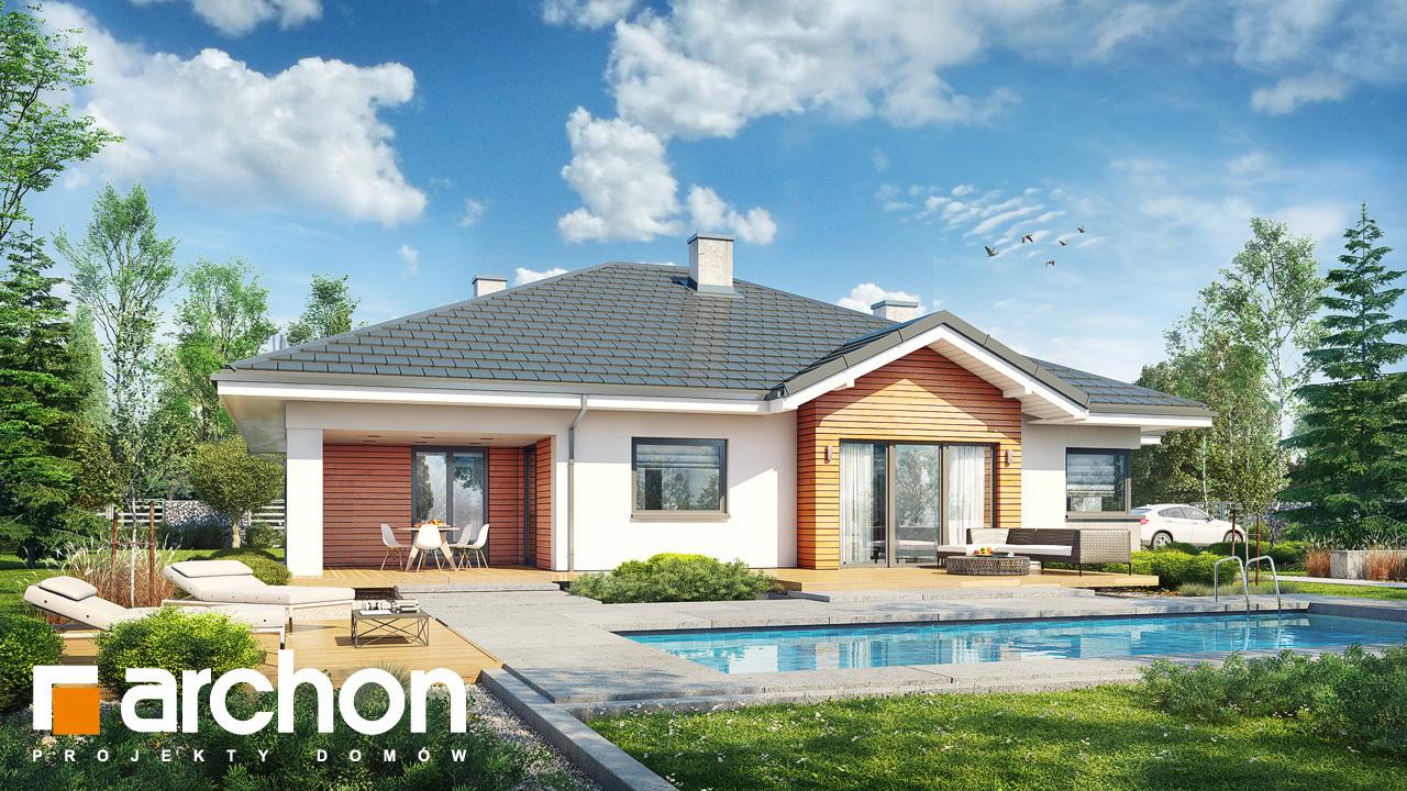 Проект будинку ARCHON+ Будинок в джонагольдах 4 (Г2)