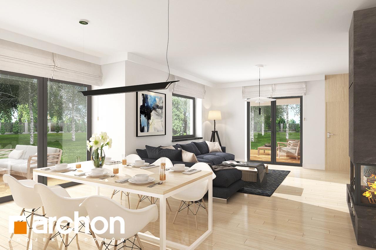 Проект будинку ARCHON+ Будинок в лобо 4 (Г2) денна зона (візуалізація 1 від 1)
