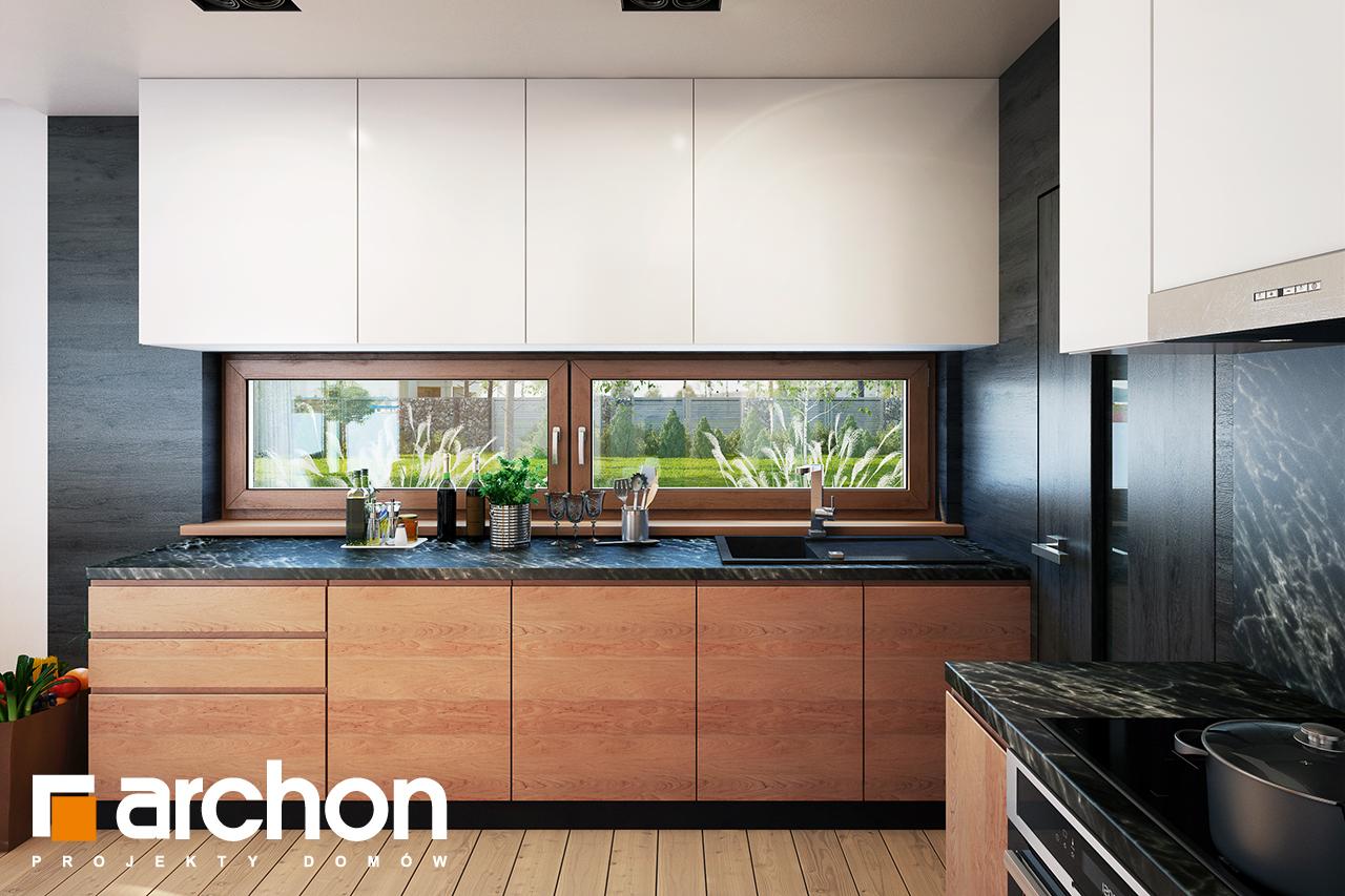 Проект будинку ARCHON+ Будинок в амарилісах вер.2 візуалізація кухні 1 від 1