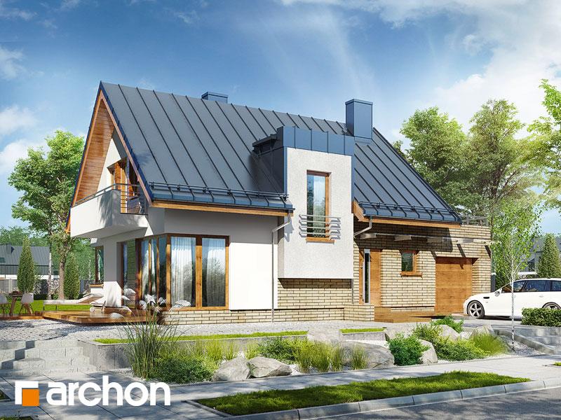 Проект будинку ARCHON+ Будинок в амарилісах вер.2 Вид 1