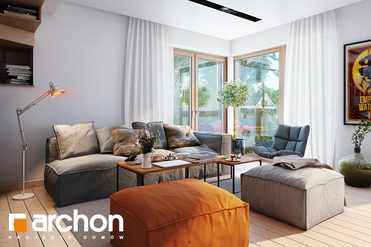 Проект будинку ARCHON+ Будинок в амарилісах вер.2 денна зона (візуалізація 1 від 5)