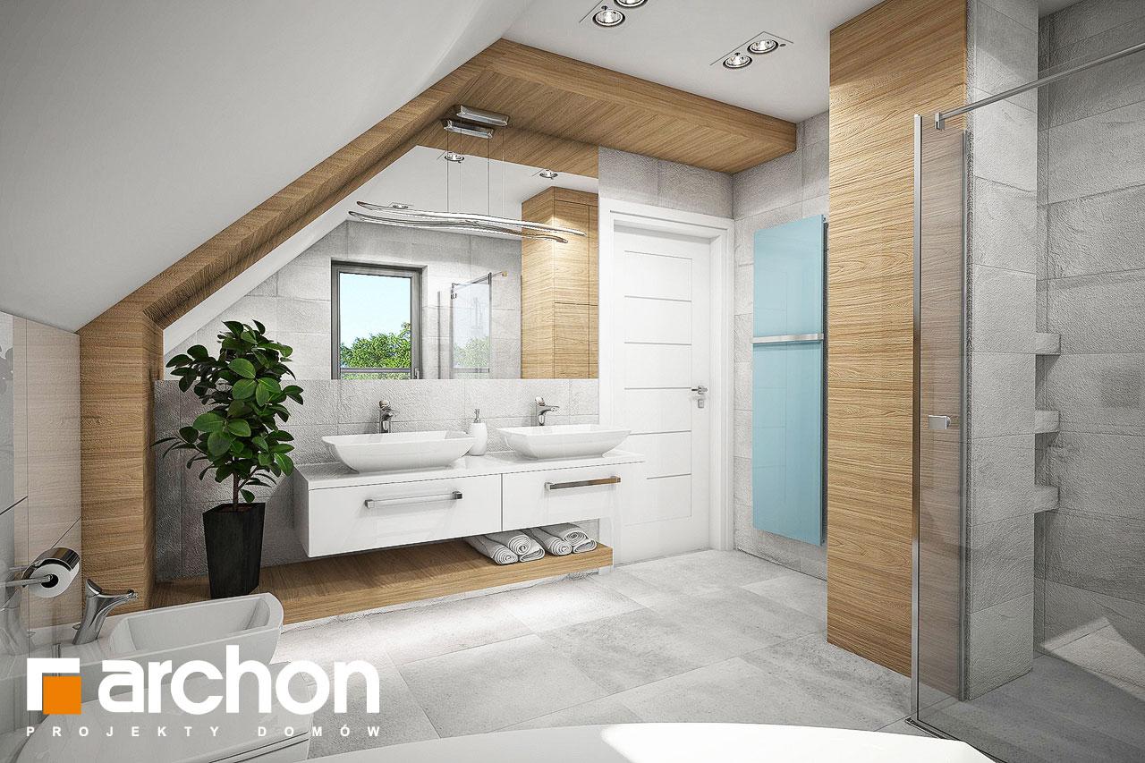 Проект будинку ARCHON+ Будинок в орлішках (Г2A) візуалізація ванни (візуалізація 3 від 3)
