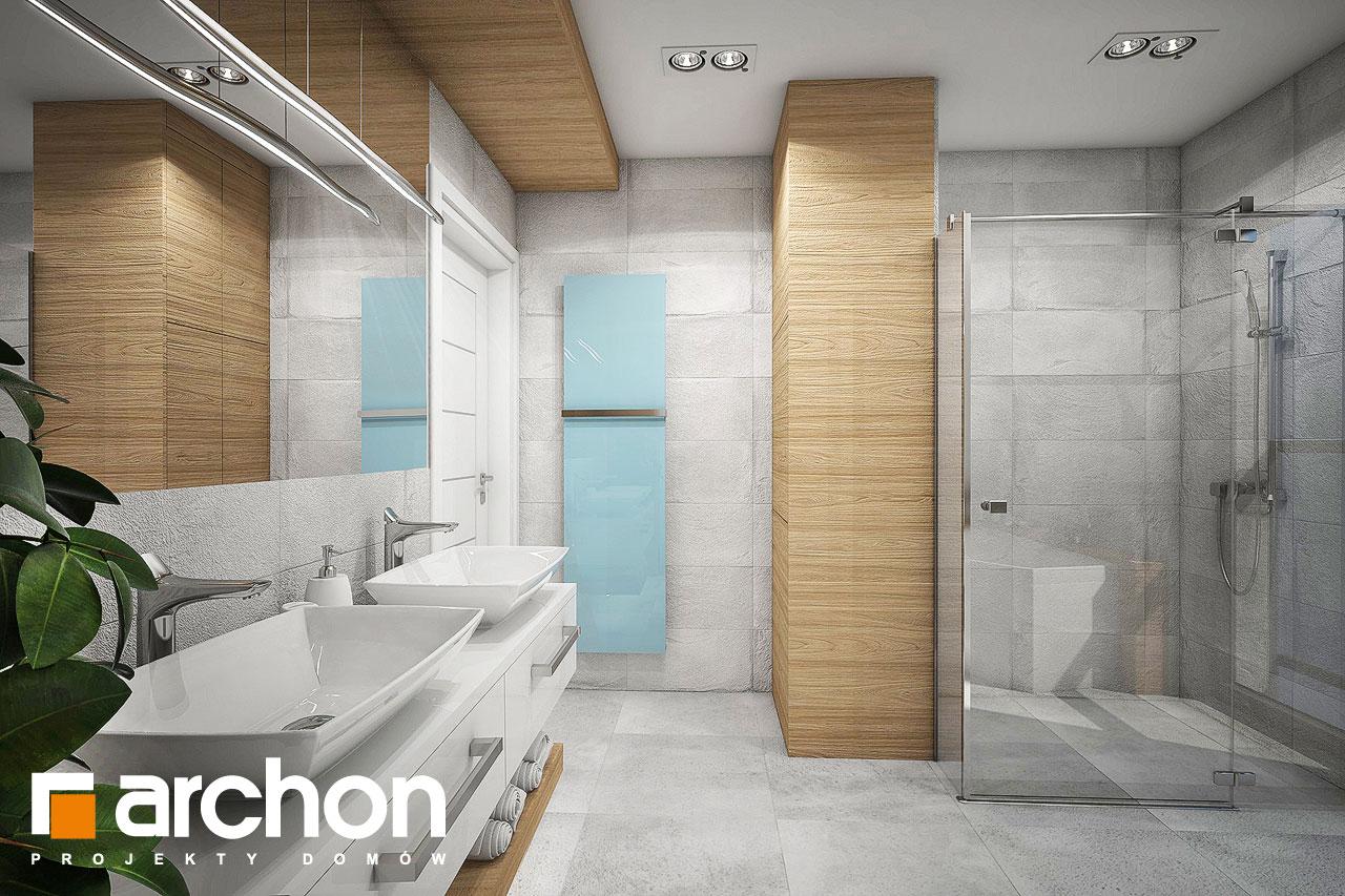 Проект будинку ARCHON+ Будинок в орлішках (Г2A) візуалізація ванни (візуалізація 3 від 4)
