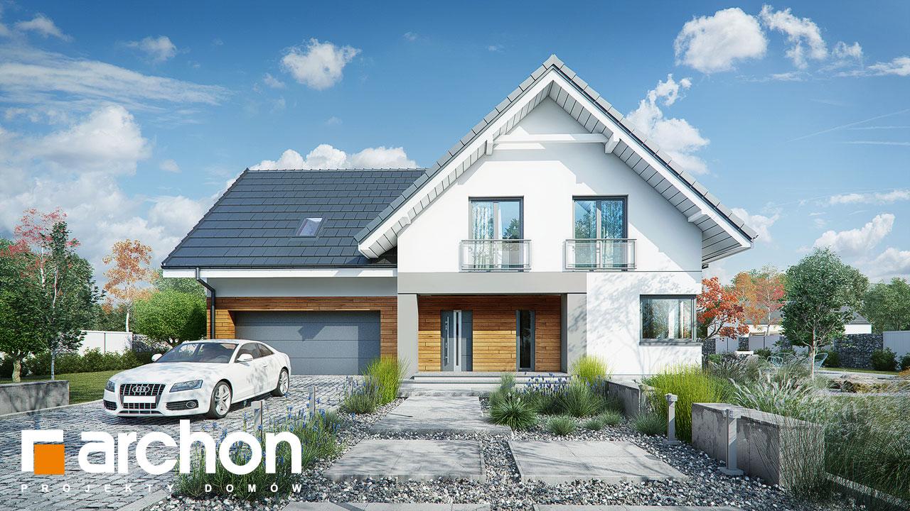 Проект будинку ARCHON+ Будинок в орлішках (Г2A) Вид 2