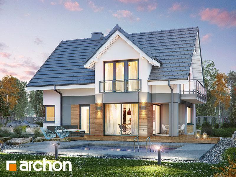 Проект будинку ARCHON+ Будинок в орлішках (Г2A) Вид 1