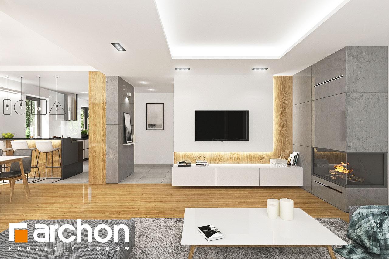 Проект будинку ARCHON+ Будинок в орлішках (Г2A) денна зона (візуалізація 1 від 3)