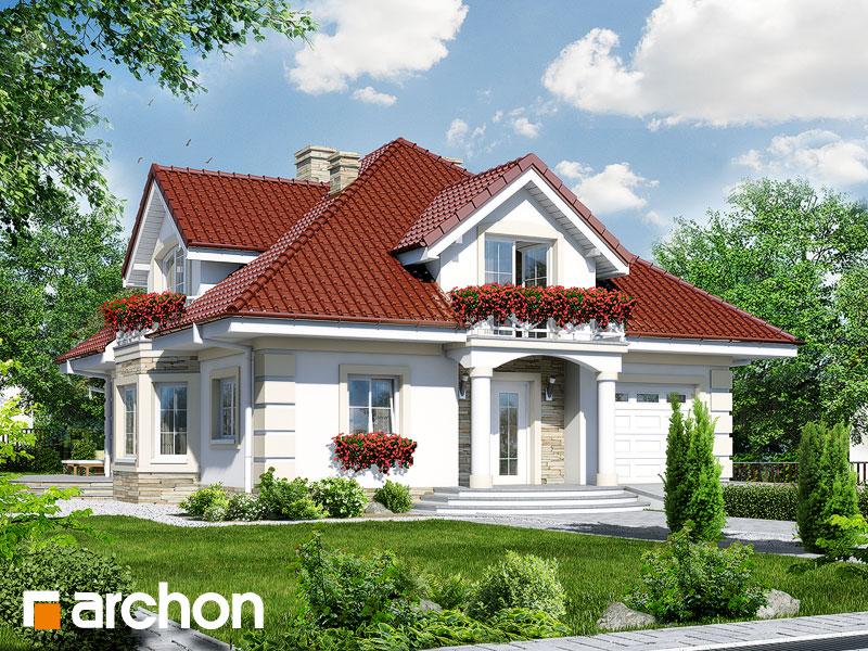 Проект будинку ARCHON+ Будинок в тим'яні 3 вер.2 Вид 1