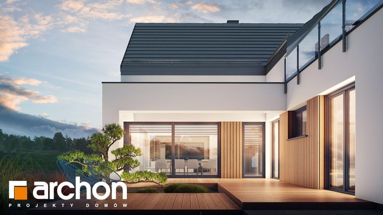 Проект будинку ARCHON+ Будинок в аромах (Г2) додаткова візуалізація