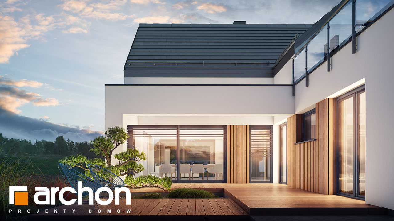 Проект дома ARCHON+ Дом в аромах (Г2) додаткова візуалізація