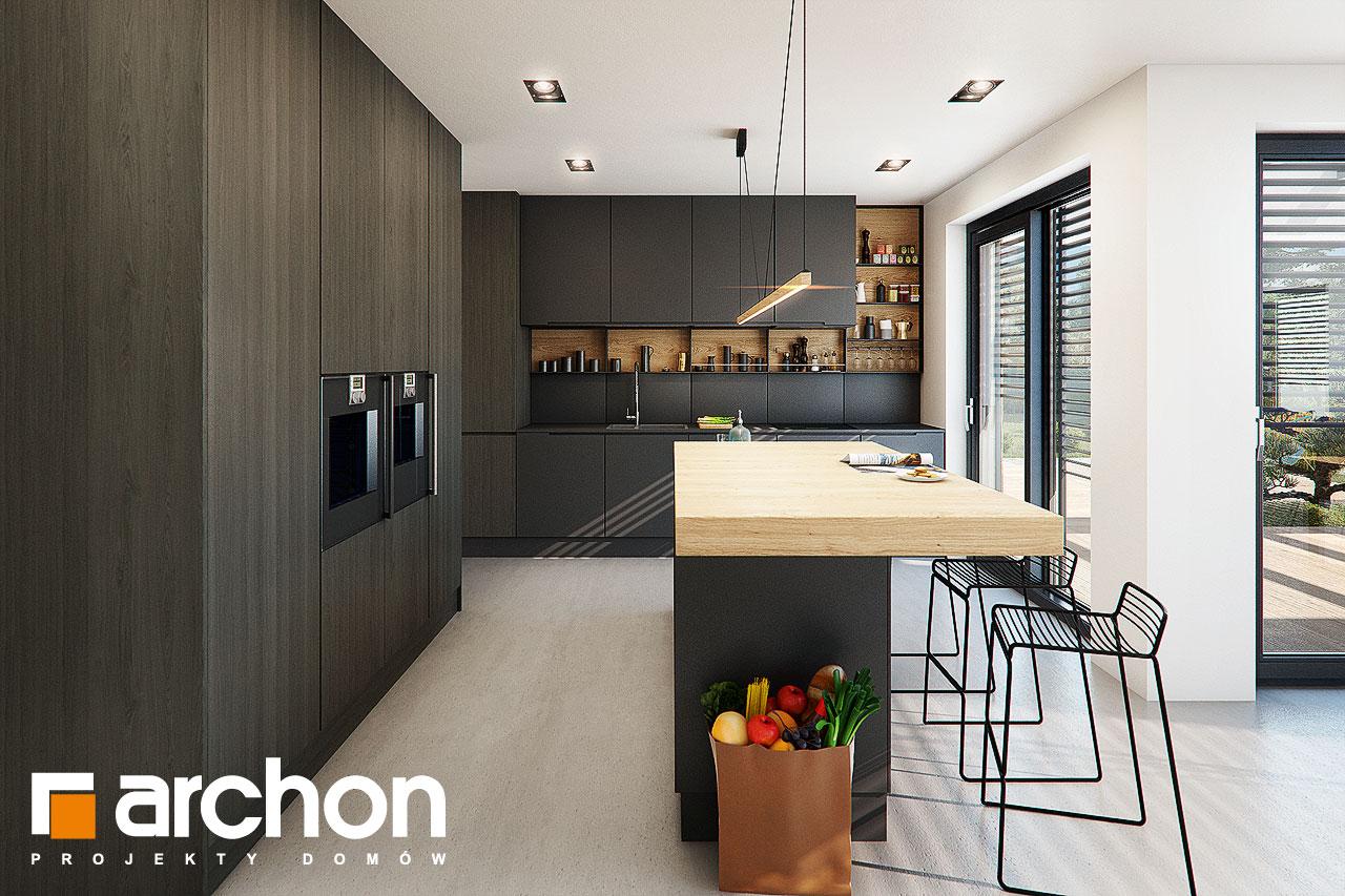 Проект будинку ARCHON+ Будинок в аромах (Г2) візуалізація кухні 1 від 1