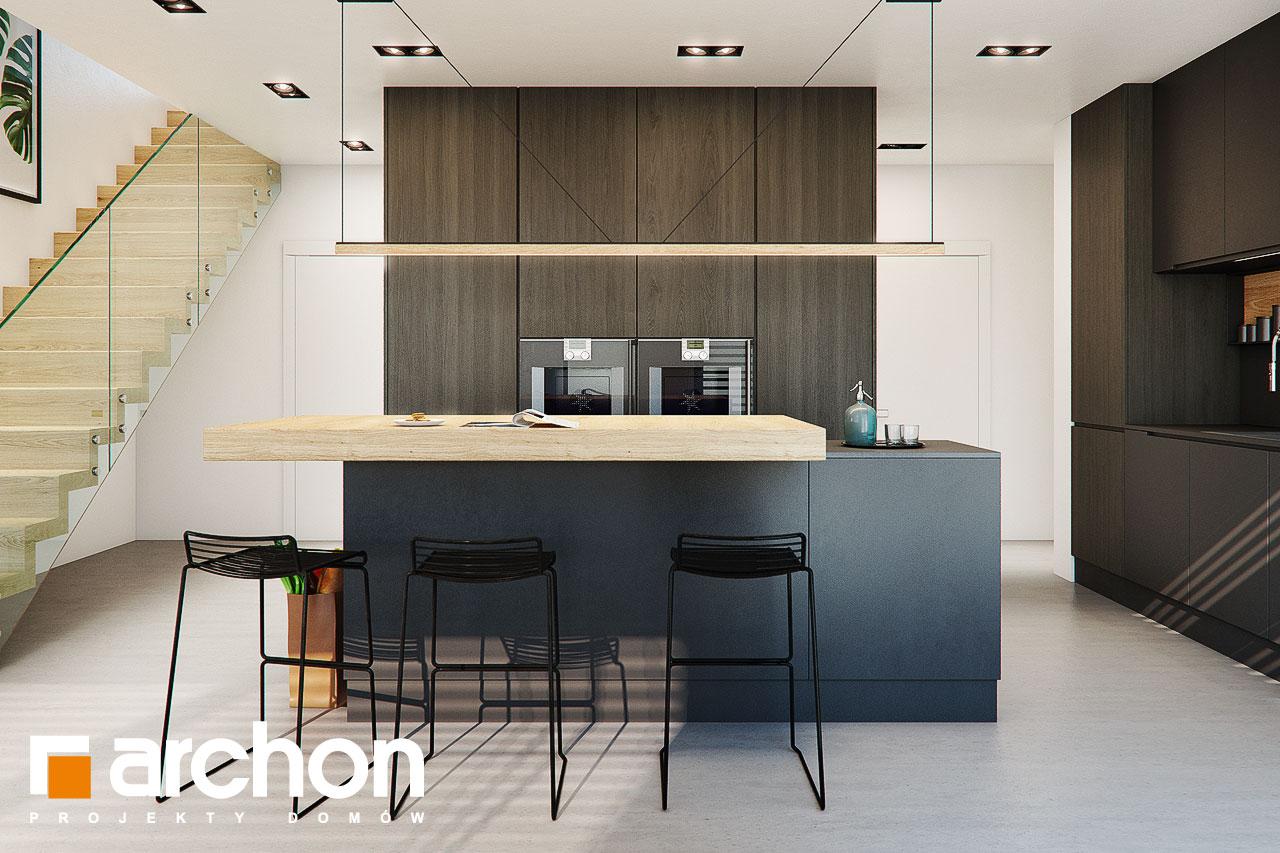 Проект дома ARCHON+ Дом в аромах (Г2) визуализация кухни 1 вид 3