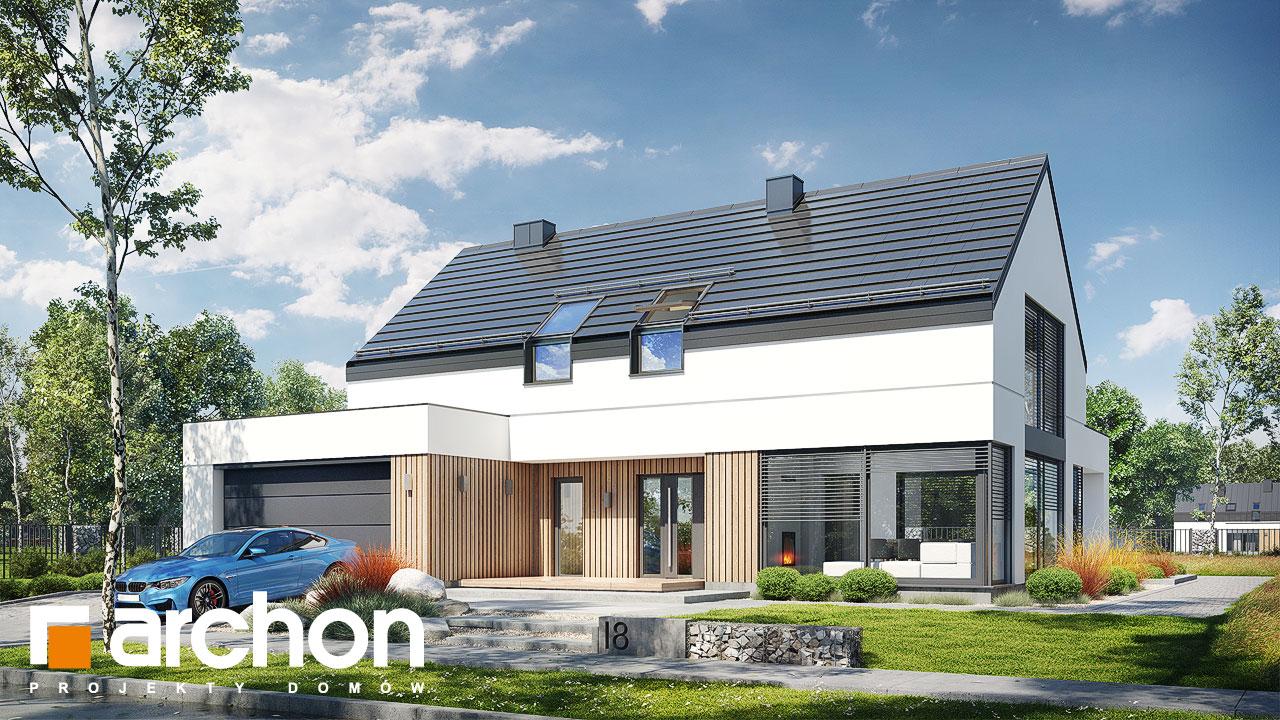 Проект будинку ARCHON+ Будинок в аромах (Г2) Вид 2