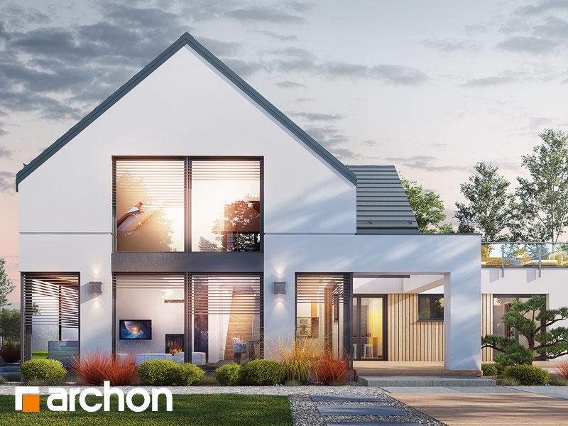 Проект будинку ARCHON+ Будинок в аромах (Г2) Вид 1