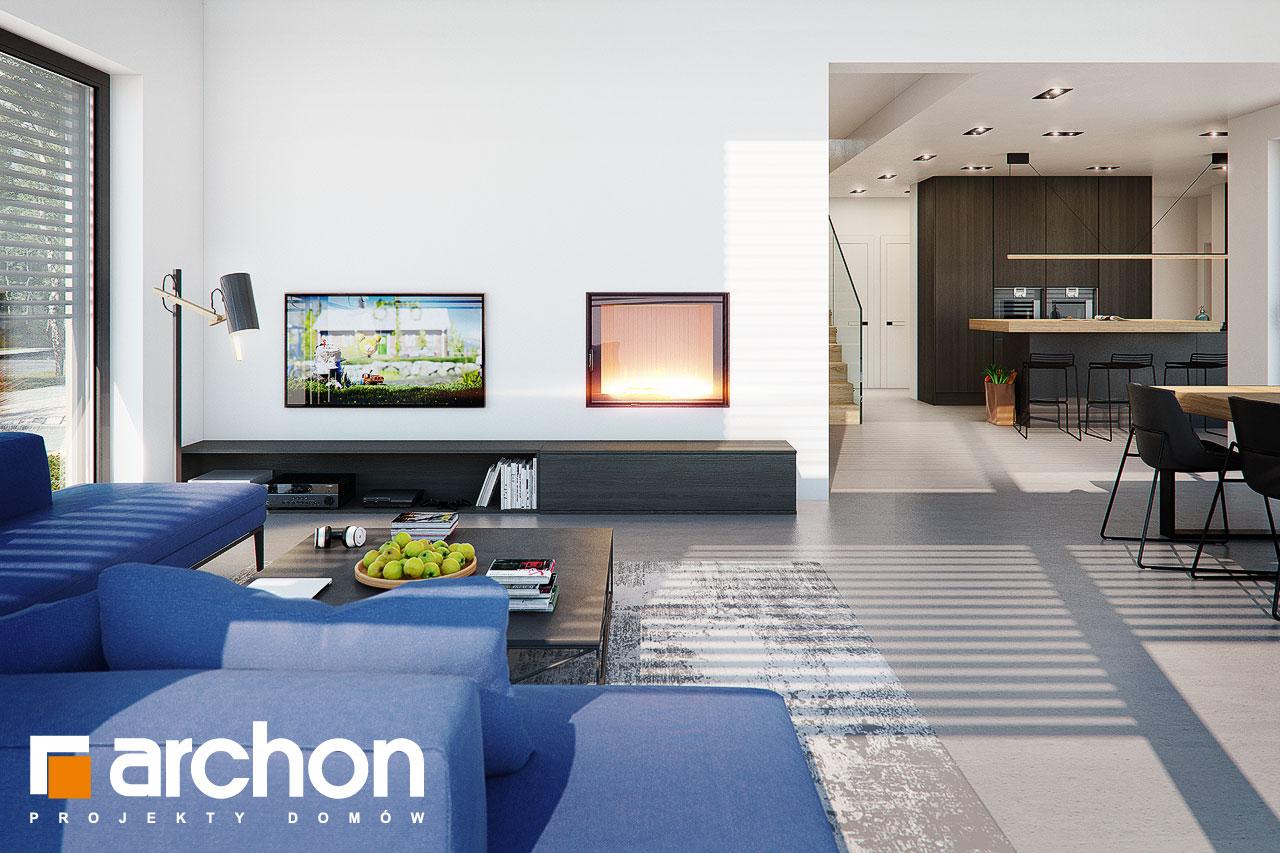 Проект будинку ARCHON+ Будинок в аромах (Г2) денна зона (візуалізація 1 від 1)