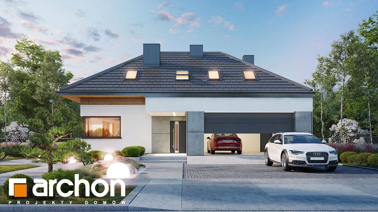 Проект будинку ARCHON+ Будинок в підсніжниках 16 (Г2) додаткова візуалізація