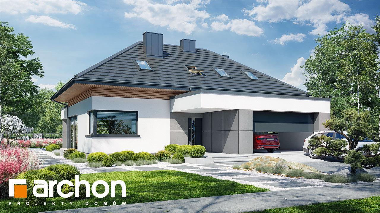 Проект будинку ARCHON+ Будинок в підсніжниках 16 (Г2)