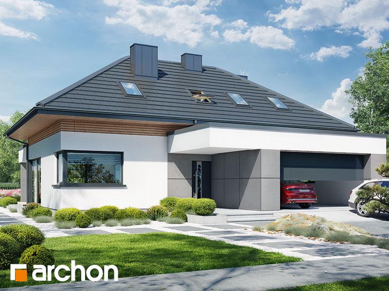 Проект будинку ARCHON+ Будинок в підсніжниках 16 (Г2) Вид 2