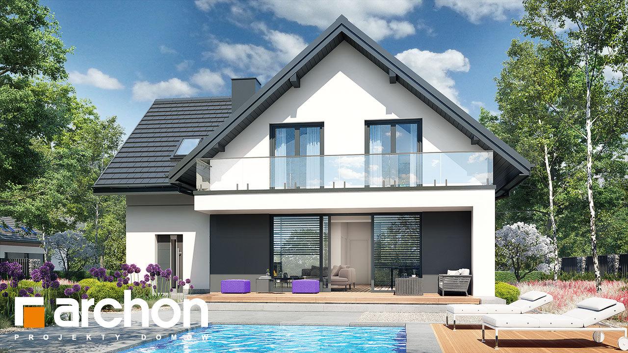 Проект будинку ARCHON+ Будинок в сон-траві 6 (Г)