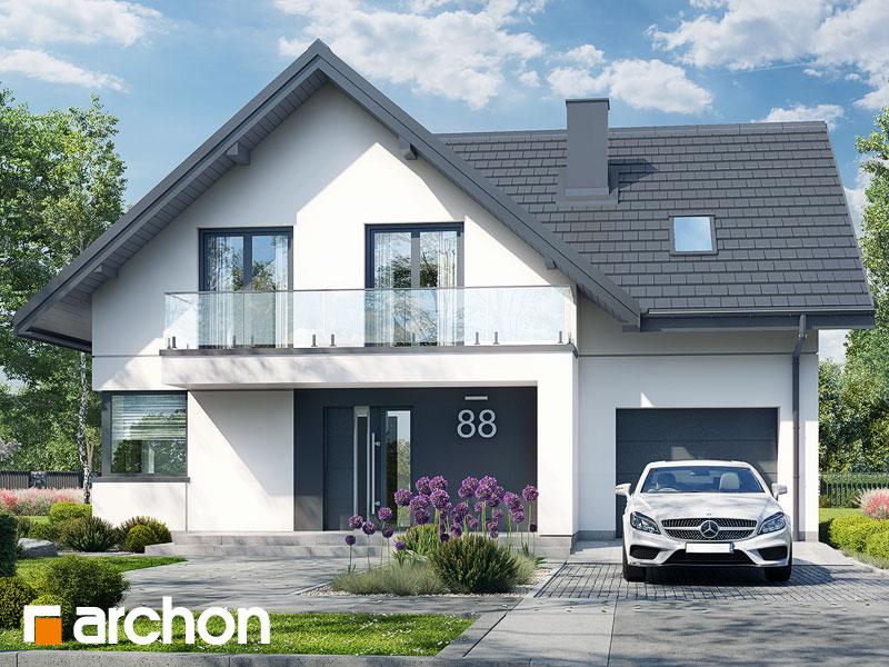 Проект будинку ARCHON+ Будинок в сон-траві 6 (Г) Вид 1