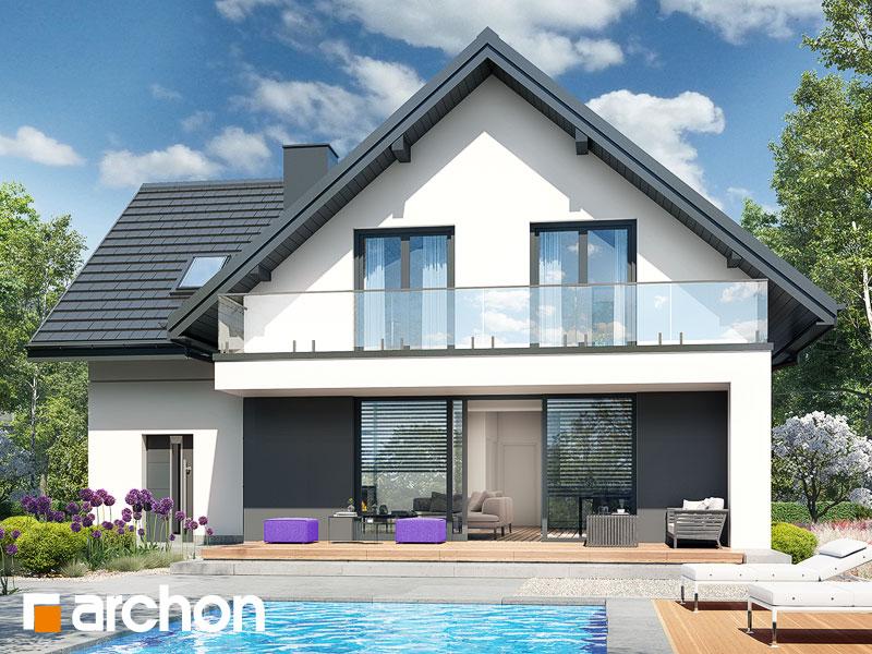 Проект будинку ARCHON+ Будинок в сон-траві 6 (Г) Вид 2