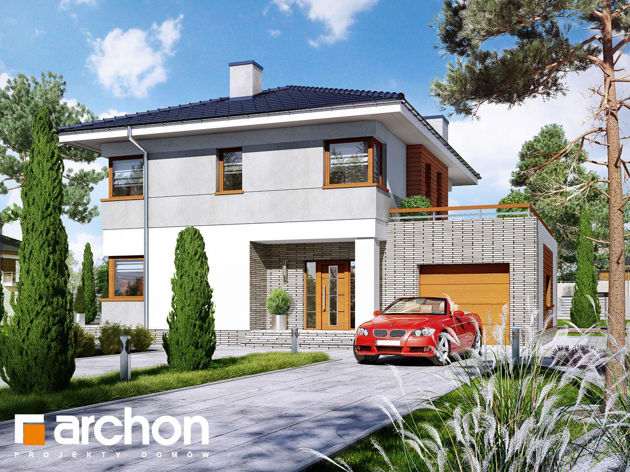 Проект будинку ARCHON+ Вілла Адріана Вид 2