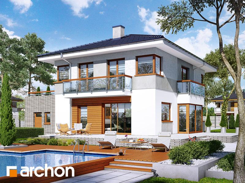 Проект будинку ARCHON+ Вілла Адріана Вид 1
