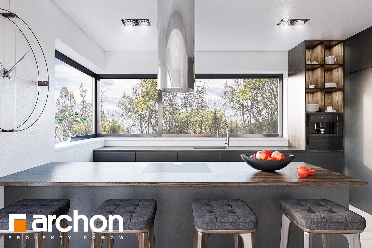 Проект будинку ARCHON+ Будинок в старках (Г2) візуалізація кухні 1 від 1