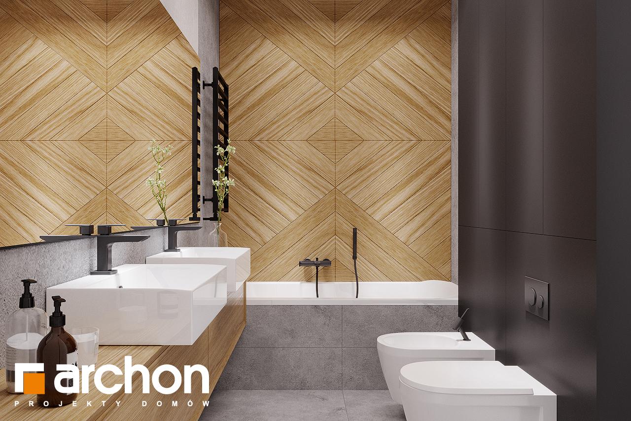 Проект будинку ARCHON+ Будинок в старках (Г2) візуалізація ванни (візуалізація 3 від 1)