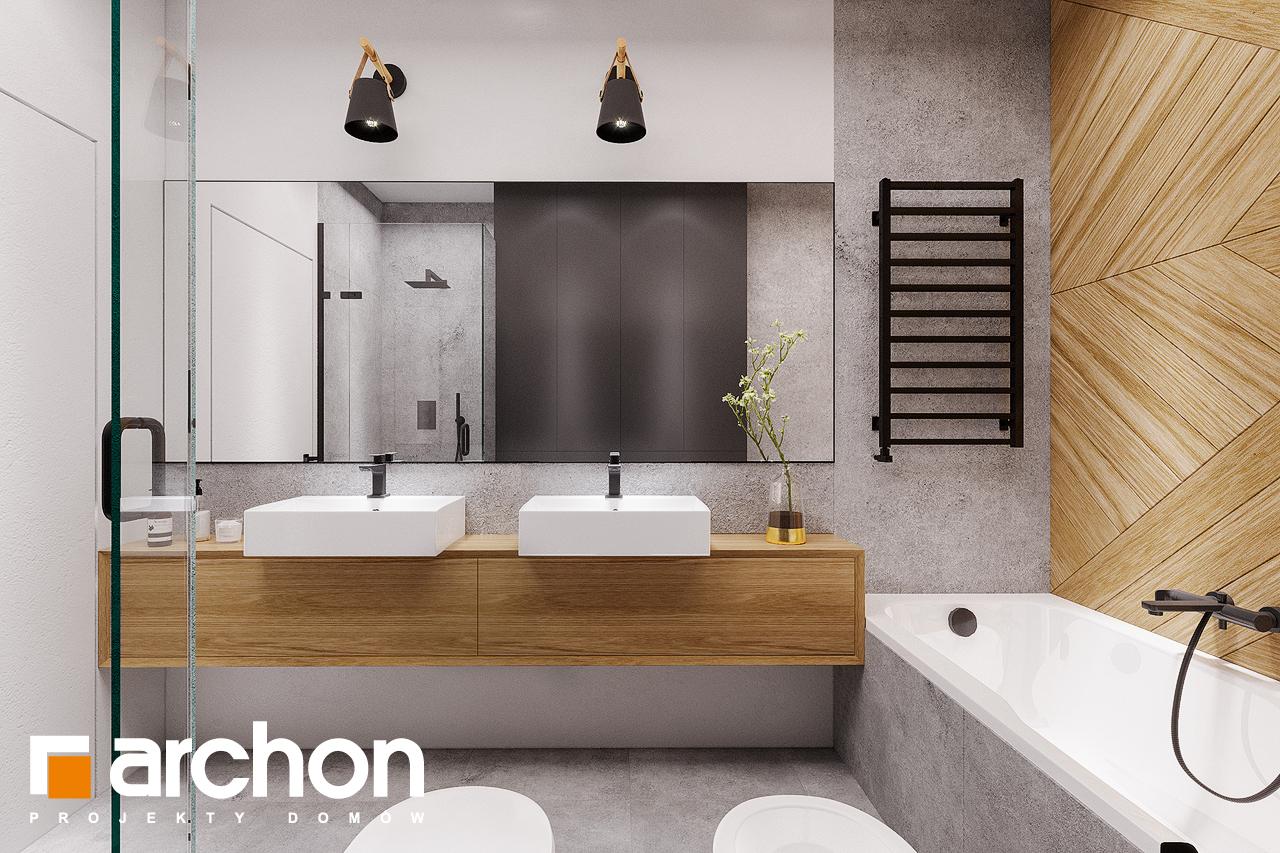 Проект будинку ARCHON+ Будинок в старках (Г2) візуалізація ванни (візуалізація 3 від 2)