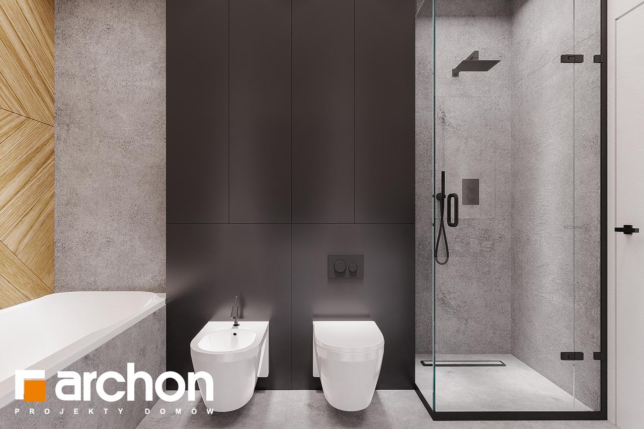 Проект будинку ARCHON+ Будинок в старках (Г2) візуалізація ванни (візуалізація 3 від 3)