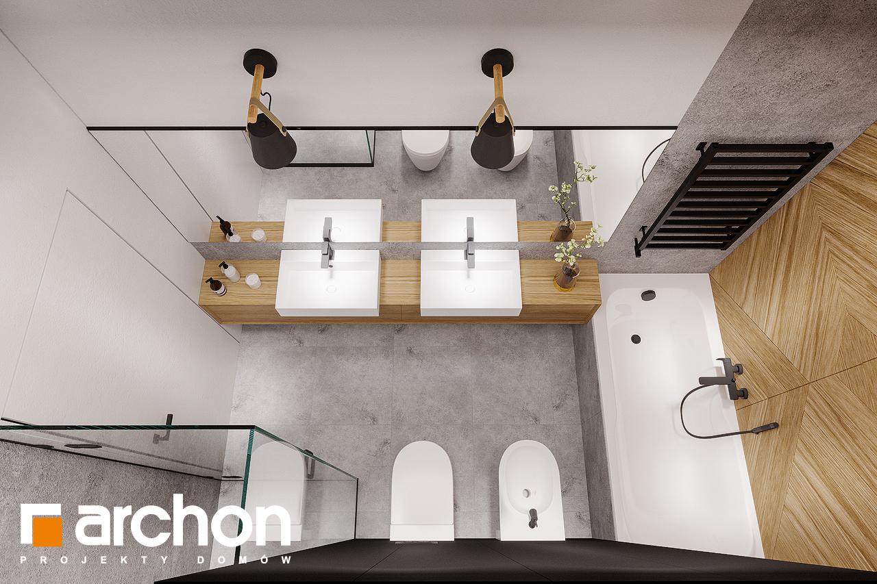 Проект будинку ARCHON+ Будинок в старках (Г2) візуалізація ванни (візуалізація 3 від 4)