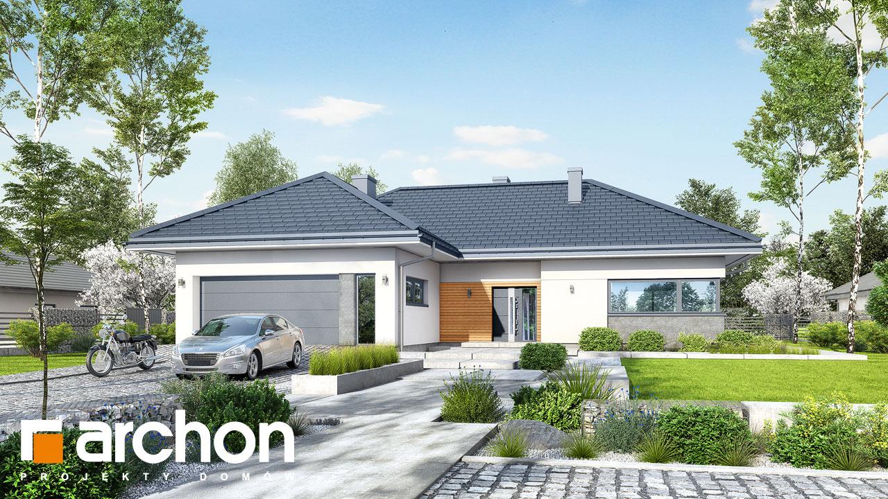 Проект будинку ARCHON+ Будинок в старках (Г2) Вид 2