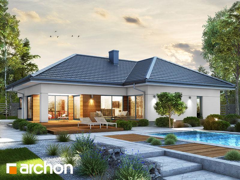 Проект будинку ARCHON+ Будинок в старках (Г2) Вид 1