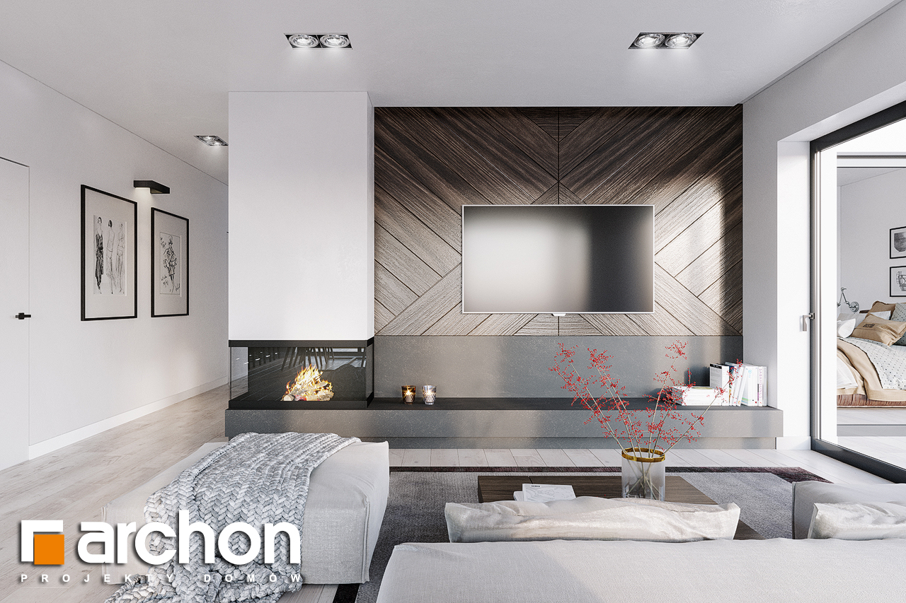 Проект будинку ARCHON+ Будинок в старках (Г2) денна зона (візуалізація 1 від 1)
