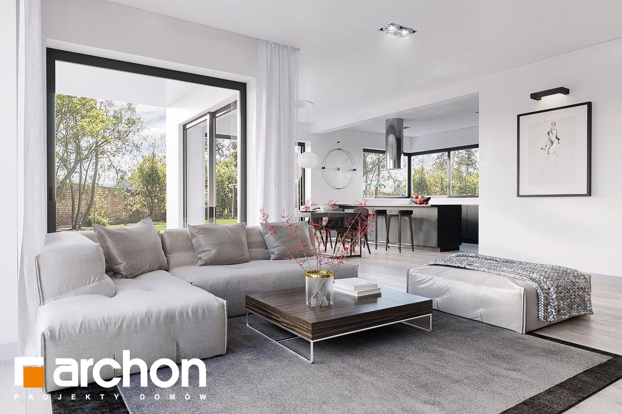 Проект будинку ARCHON+ Будинок в старках (Г2) денна зона (візуалізація 1 від 2)