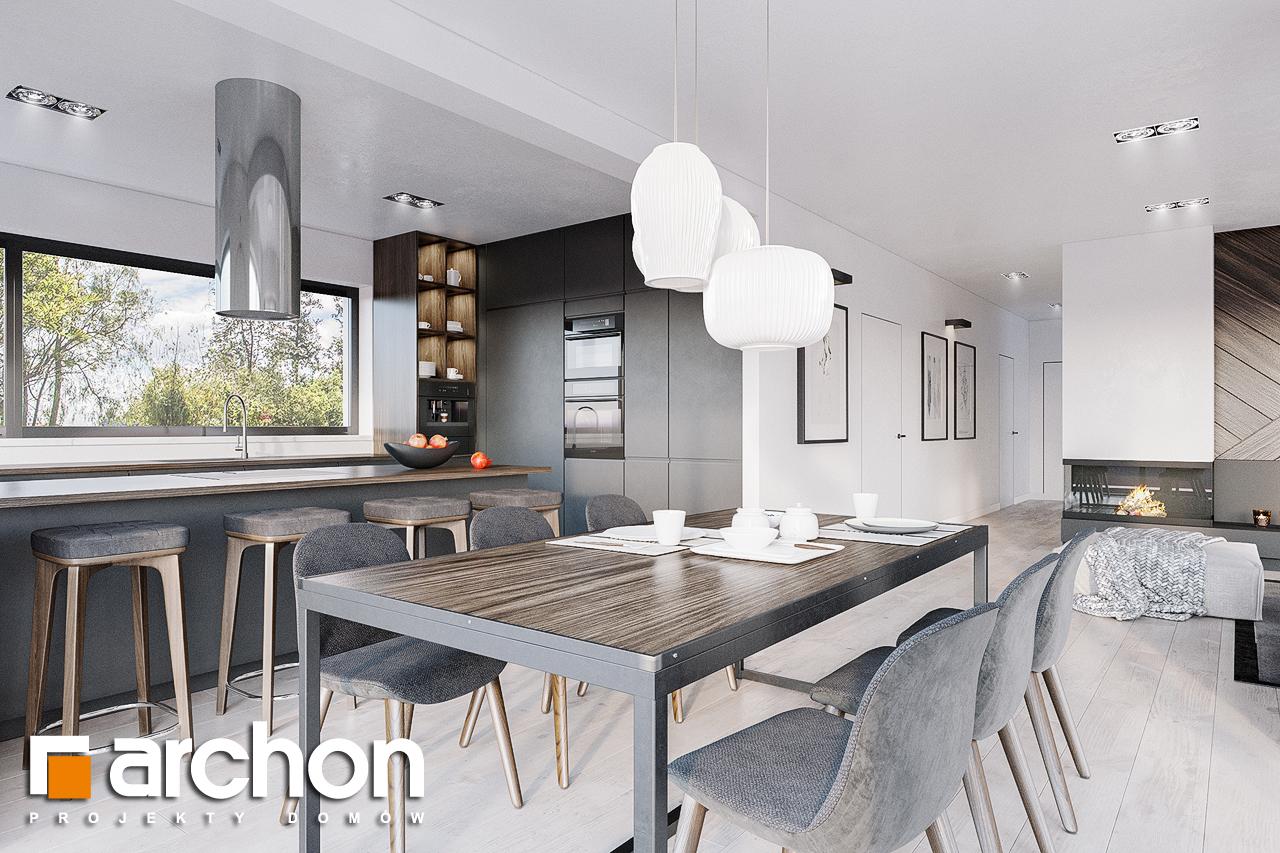 Проект будинку ARCHON+ Будинок в старках (Г2) денна зона (візуалізація 1 від 4)