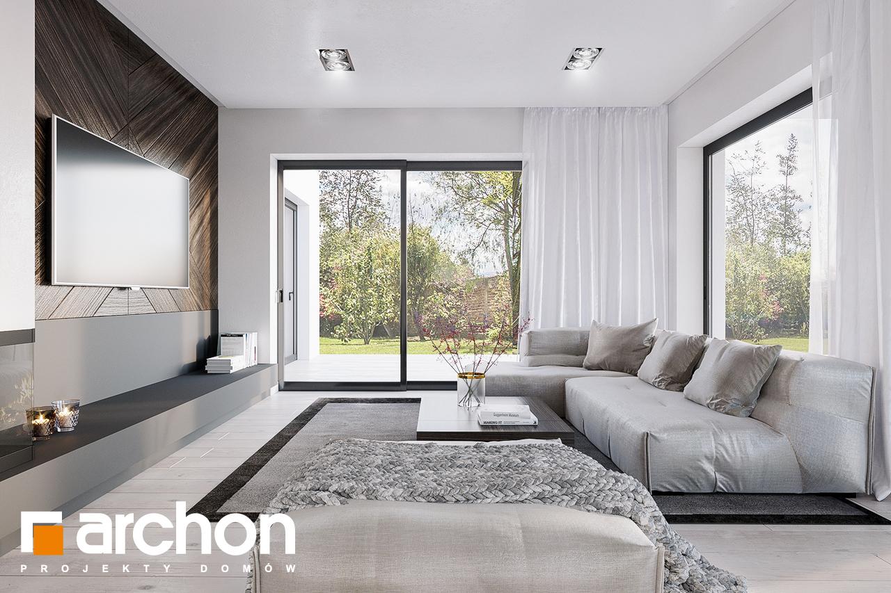 Проект будинку ARCHON+ Будинок в старках (Г2) денна зона (візуалізація 1 від 5)