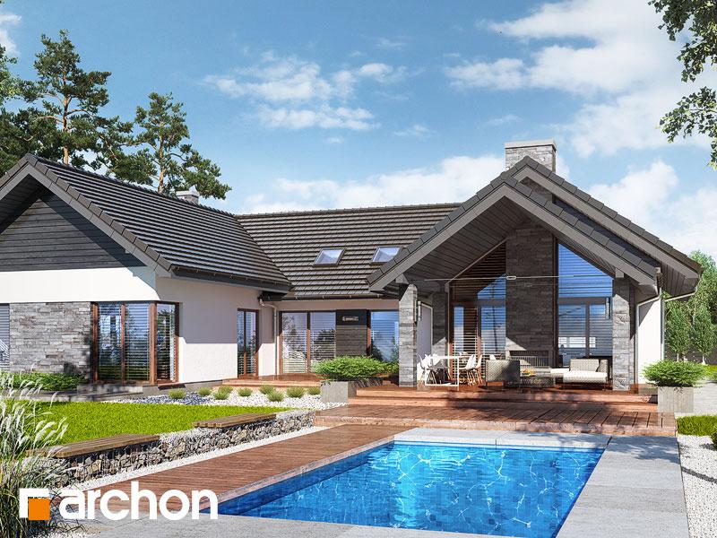 Проект будинку ARCHON+ Будинок в клівіях 4 (Г2) Вид 1