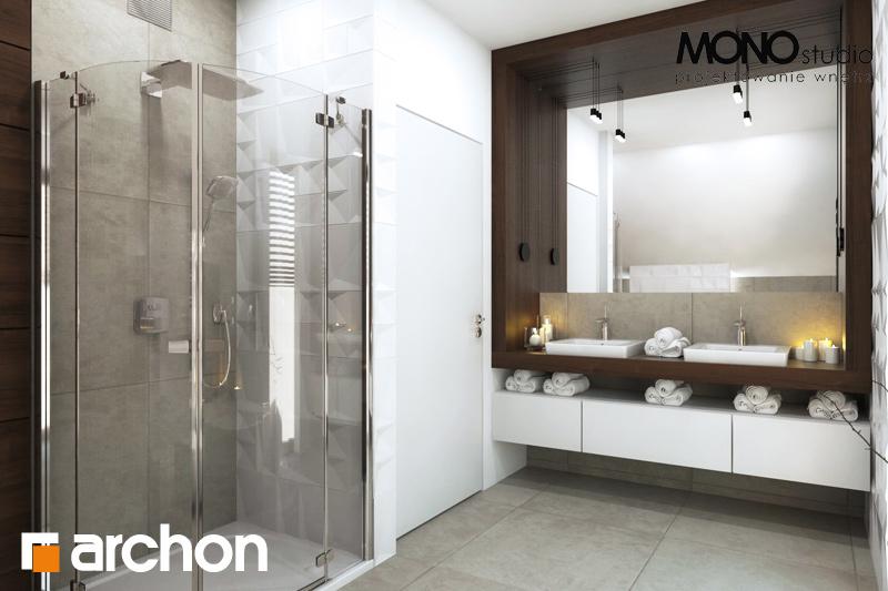 Проект будинку ARCHON+ Будинок в орлішках візуалізація ванни (візуалізація 3 від 1)