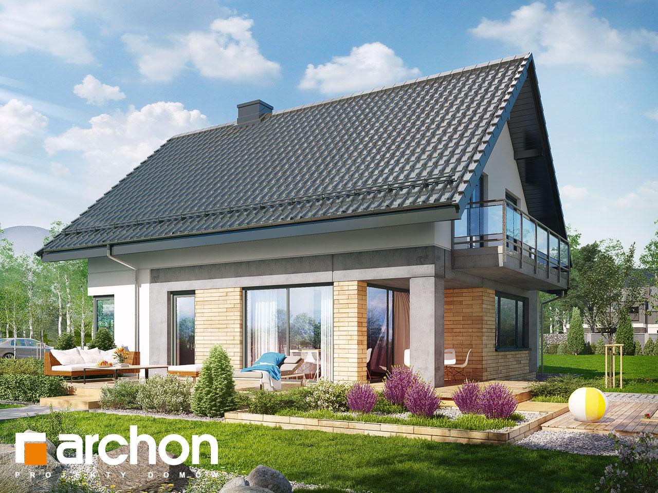 Проект будинку ARCHON+ Будинок в орлішках Вид 2
