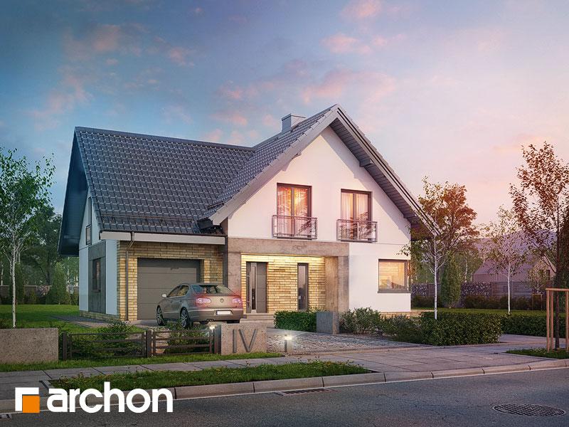 Проект будинку ARCHON+ Будинок в орлішках Вид 1