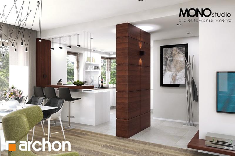 Проект будинку ARCHON+ Будинок в орлішках денна зона (візуалізація 2 від 1)