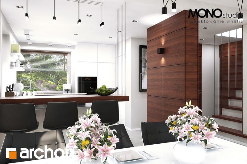 Проект будинку ARCHON+ Будинок в орлішках денна зона (візуалізація 2 від 2)