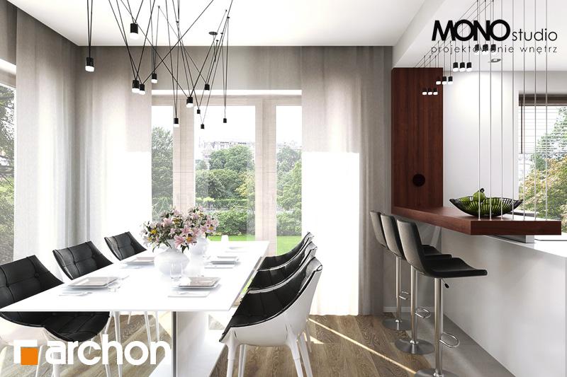 Проект будинку ARCHON+ Будинок в орлішках денна зона (візуалізація 2 від 5)