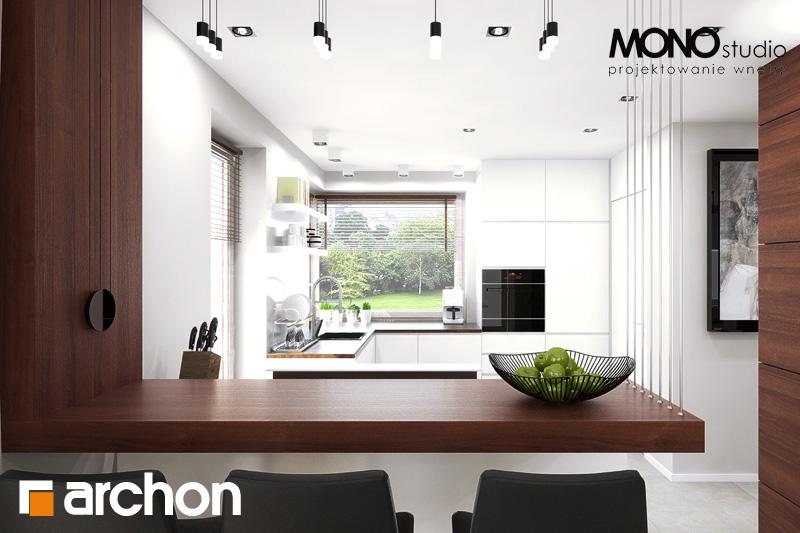 Проект будинку ARCHON+ Будинок в орлішках денна зона (візуалізація 2 від 6)