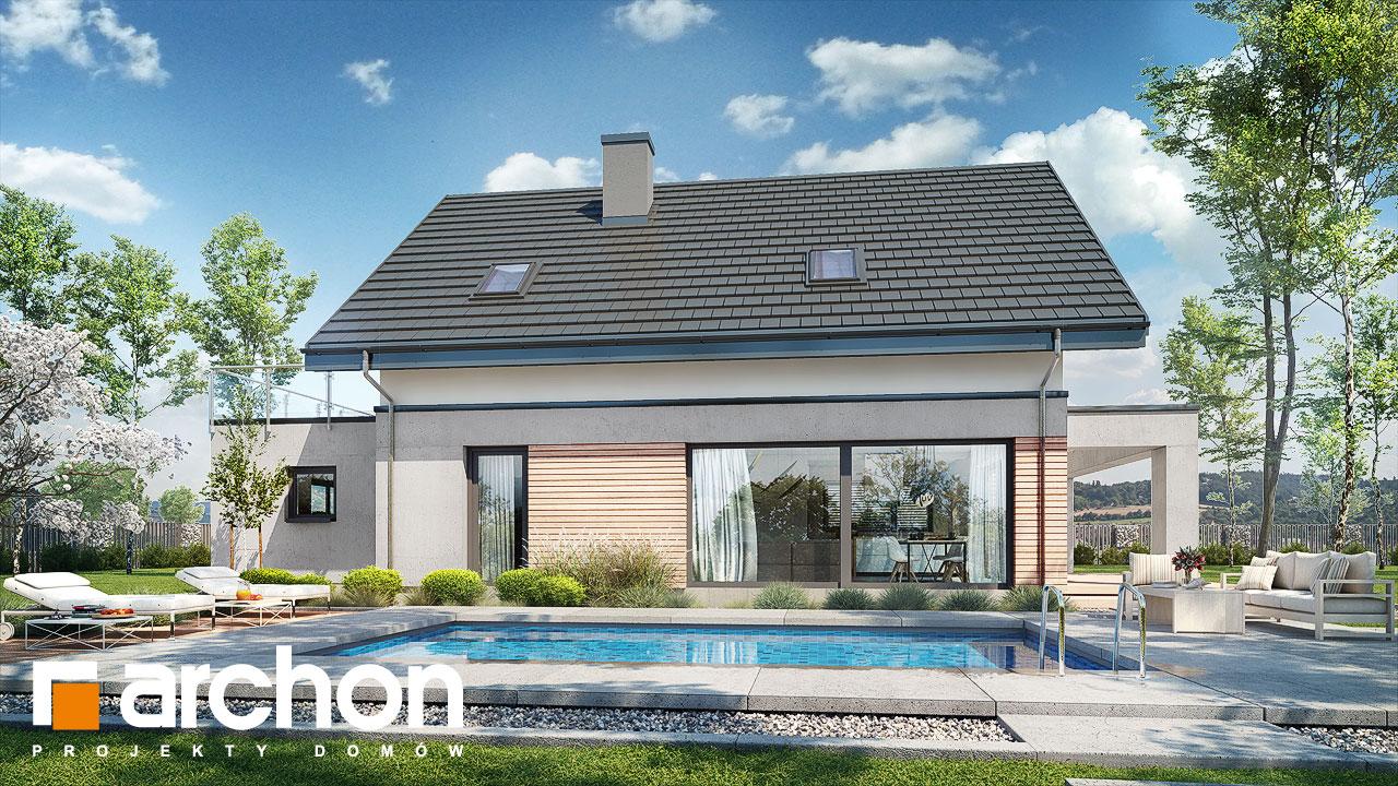 Проект будинку ARCHON+ Будинок в мандевілі 2 додаткова візуалізація