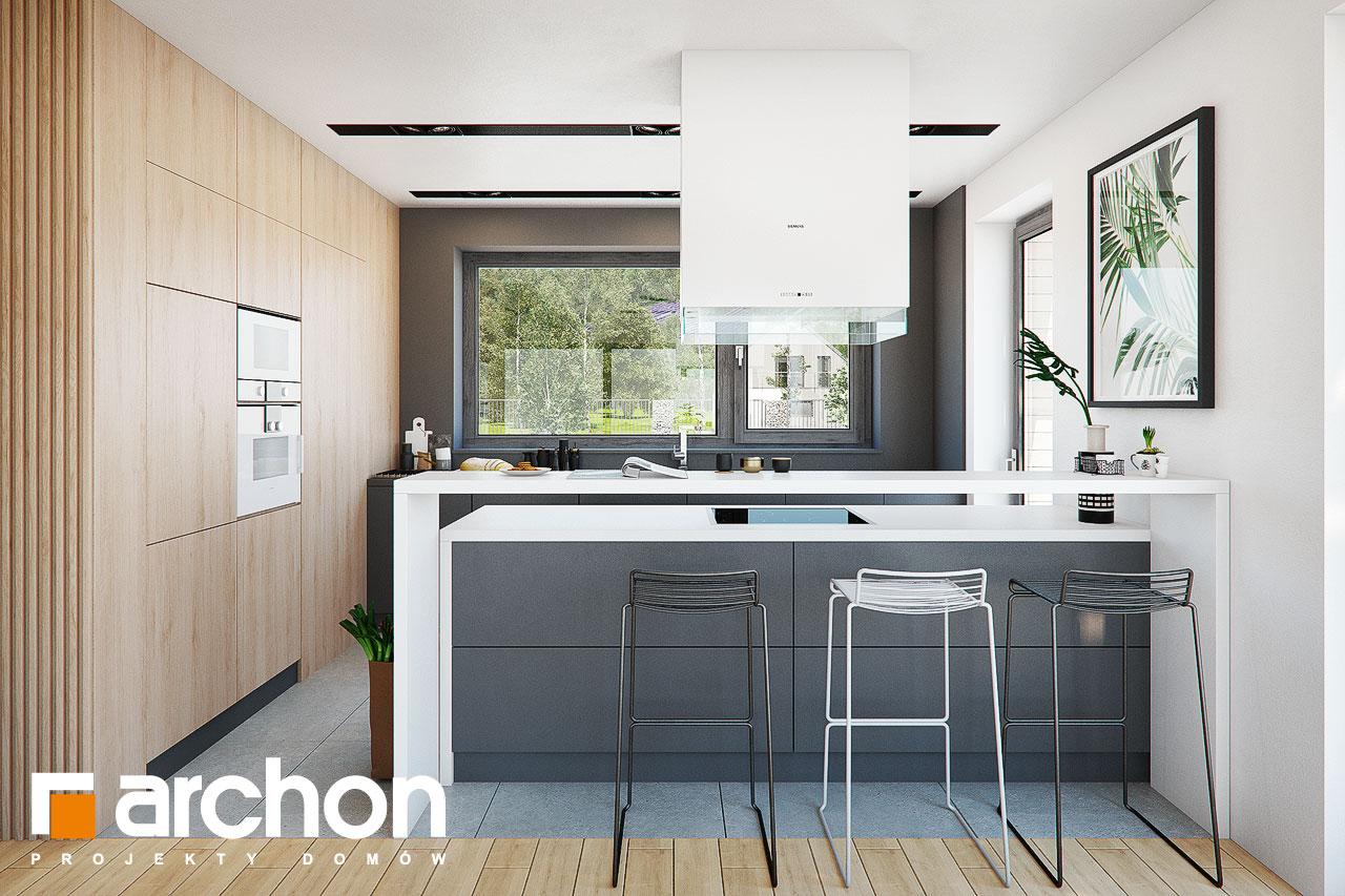 Проект будинку ARCHON+ Будинок в мандевілі 2 візуалізація кухні 1 від 1