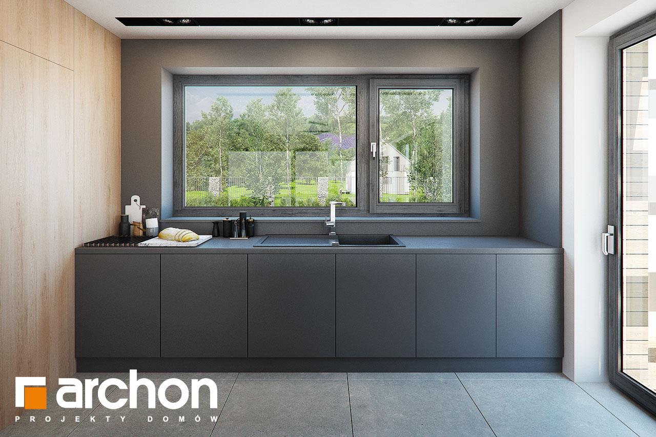 Проект будинку ARCHON+ Будинок в мандевілі 2 візуалізація кухні 1 від 2