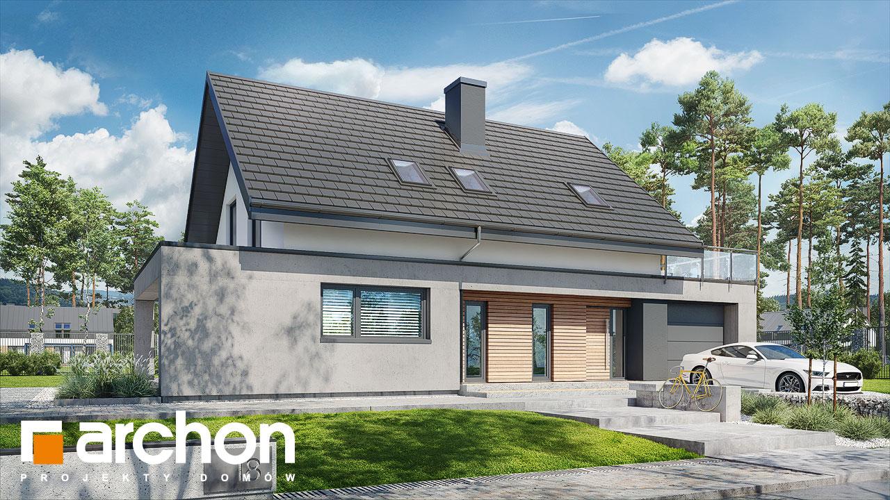 Проект будинку ARCHON+ Будинок в мандевілі 2 Вид 2